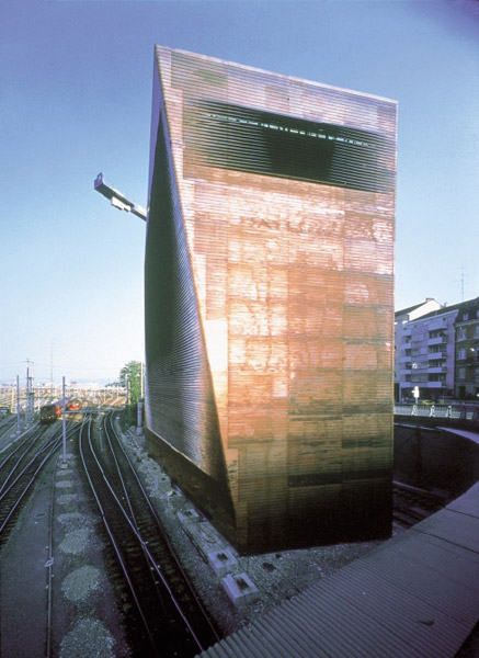 Central Signal Tower SBB, Basel, Switzerland, 1997