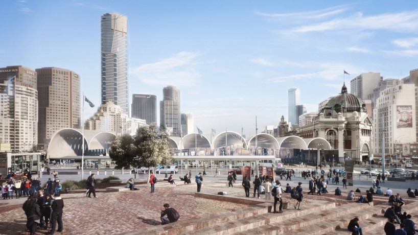 Federation Square View
